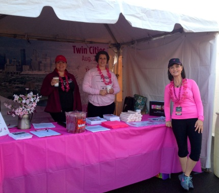 susan g. komen 3-Day breast cancer walk twin cities race for the cure
