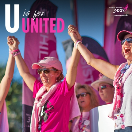 United Susan G Komen 3-Day Breast Cancer Walk