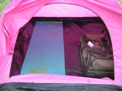 susan g. komen 3-day breast cancer walk blog camping hacks yoga mat sleeping pad