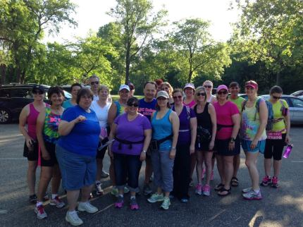 susan g. komen 3-Day breast cancer walk june training michigan