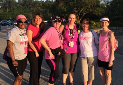 susan g. komen 3-Day breast cancer walk june stone mountain training walk