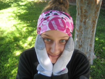 susan g. komen 3-Day breast cancer walks walking hacks spare socks mittens