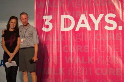 susan g. komen 3-day breast cancer walk blog michigan 2014 camp speaker meghan malley