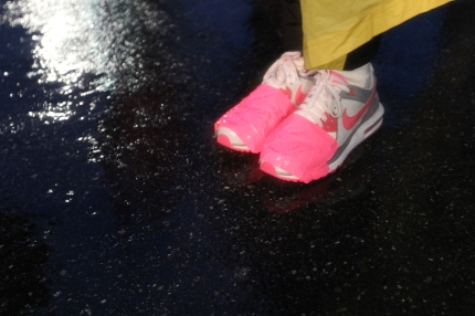 susan g. komen 3-Day breast cancer walk michigan rain wet weather walking tips duct tape