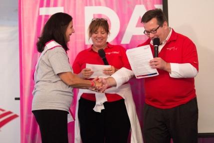 susan g. komen 3-day breast cancer walk michigan day 1 top individual  fundraiser