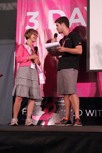 Top Individual Fundraiser Patricia M.