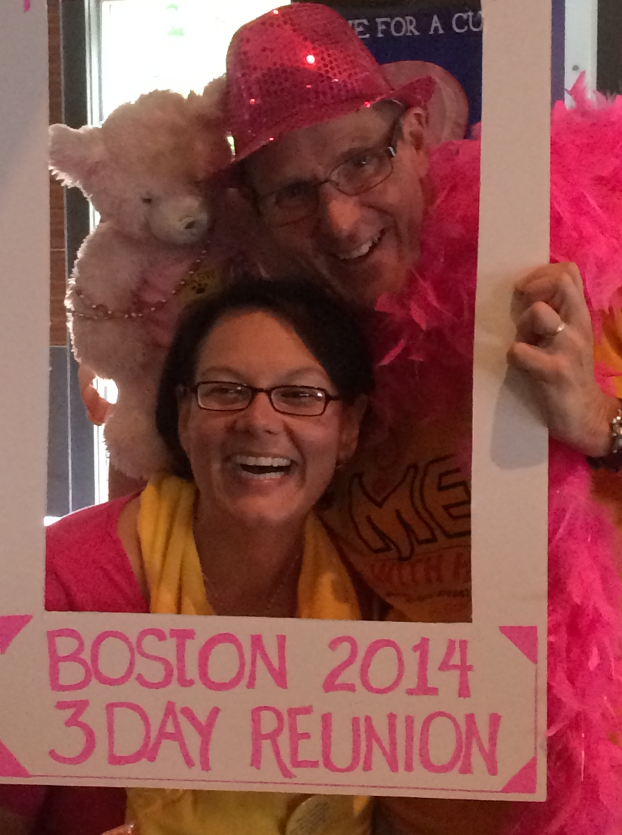 Planned route of boston 3 day breast walk