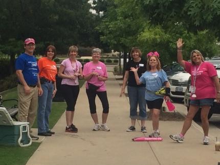 susan g. komen 3-Day breast cancer walk july meet-up round-up dallas fort worth training walk southlake crew