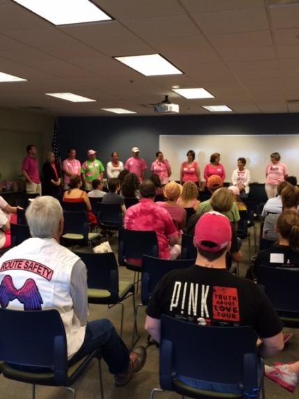 susan g. komen 3-Day breast cancer walk july meet-up round-up  philadelphia meet-up crew fundraiser