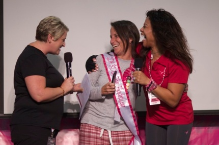 Congratulations to Julie, the Philadelphia 3-Day Top Individual Fundraiser.