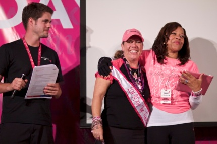 Top Individual Fundraiser Loretta