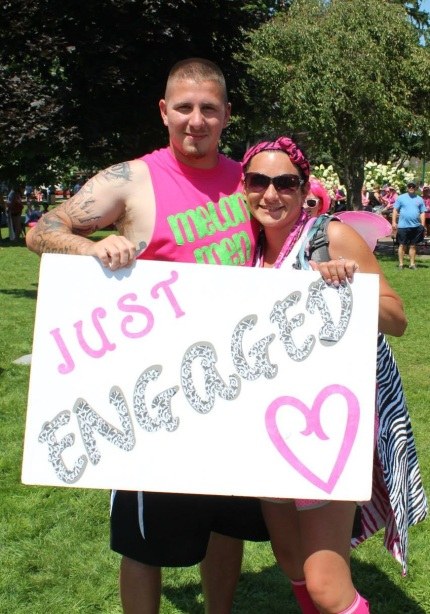 susan g. komen 3-day breast cancer walk michigan proposal amanda david