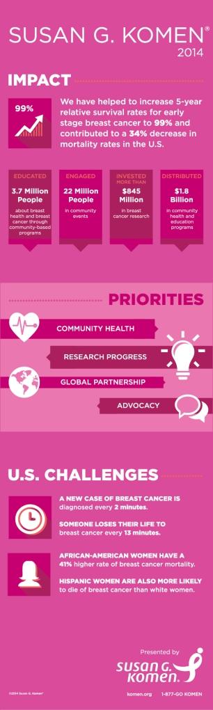 susan g. komen impact priorities challenges 2014