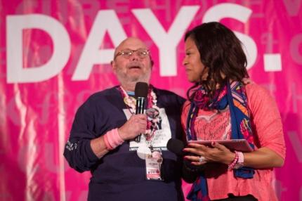 susan g. komen 3-day breast cancer walk 60 miles blog dallas fort worth milestone award burt