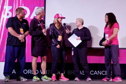 Susan G. komen 3-Day breast cancer walk blog san diego top fundraisers team Powered by Optimism