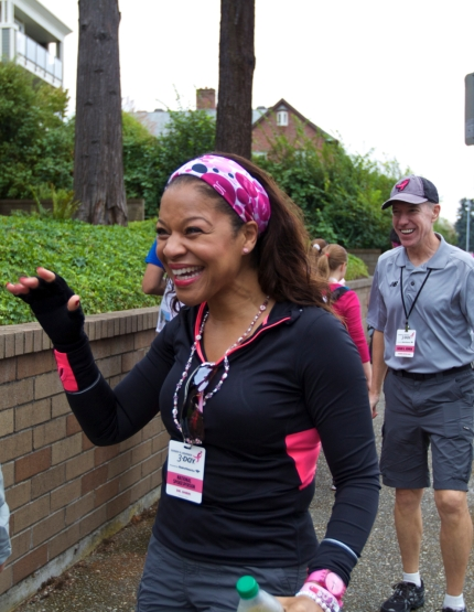 susan g. komen 3-Day breast cancer walk blog dr sheri prentiss thanksgiving