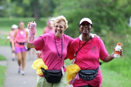 susan g. komen 3-day breast cancer 60 miles walk friend teammate