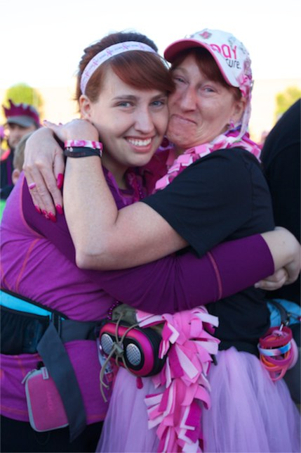 susan g. komen 3-day breast cancer 60 miles walk friend teammate