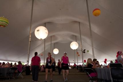 susan g. komen 3-Day breast cancer walk blog route camp