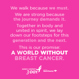 a world without breast cancer