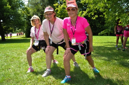 susan g. komen 3-day breast cancer 60 mile walk blog training stretching