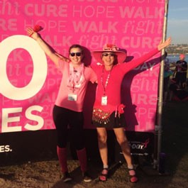susan g. komen 3-Day breast cancer walk blog 60 miles team captains roxanne