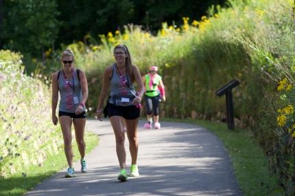 susan g. komen 3-Day breast cancer walk blog 60 miles michigan route