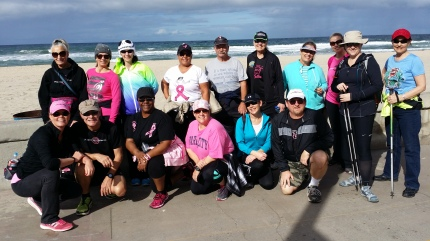susan g. komen 3-Day breast cancer walk blog 60 miles meet-up san diego