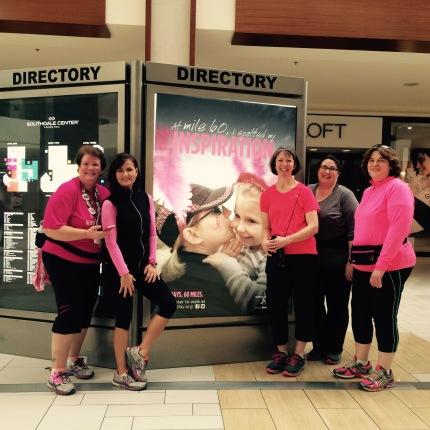 susan g. komen 3-Day breast cancer walk blog 60 miles meet-up twin cities