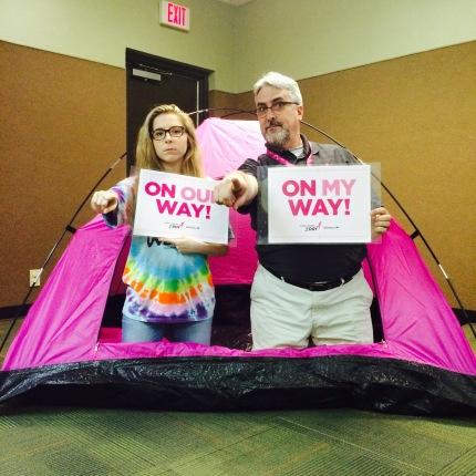 susan g. komen 3-Day breast cancer walk blog 60 miles meet-up dallas fort worth