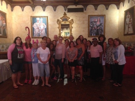 susan g. komen 3-Day breast cancer walk blog 60 miles meet-up tampa bayland