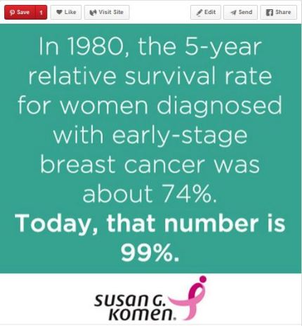 susan g. komen 3-Day breast cancer 60 mile walk blog pinterest facts