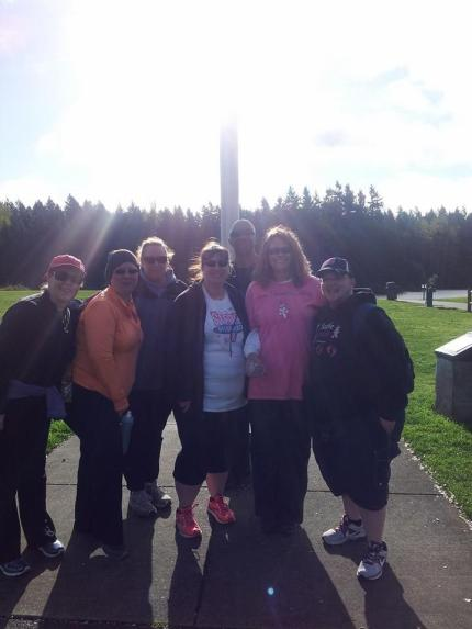susan g. komen 3-Day breast cancer walk blog 60 miles meet-up seattle