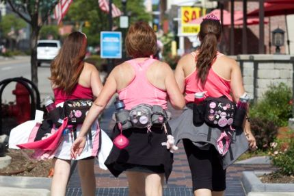 susan g. komen 3-Day breast cancer walk blog training injury