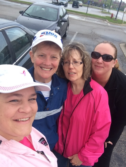 susan g. komen 3-Day breast cancer walk blog training meet-up 2015 may chicago