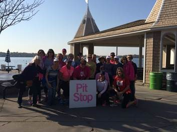 susan g. komen 3-Day breast cancer walk blog training meet-up 2015 may twin cities