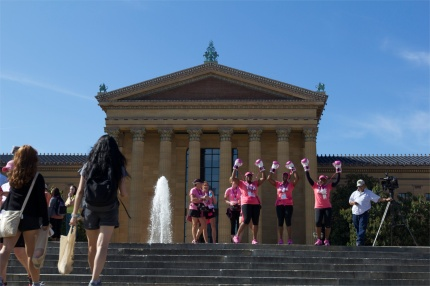 Philly Museum of Art and Rocky Steps