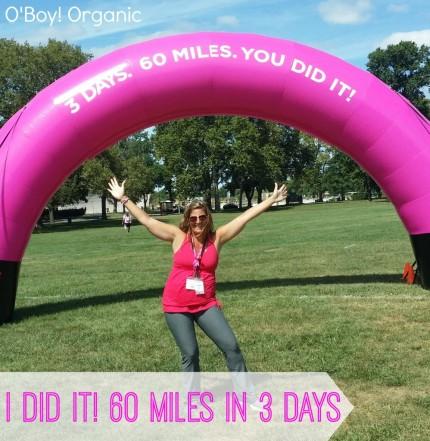 susan g. komen 3-day breast cancer 60 miles walk blog trina o'boyle obo y! organic blogger walker
