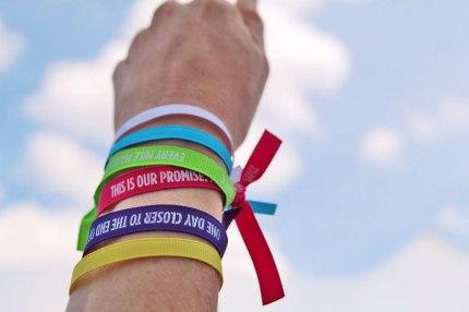 Susan G. Komen 3-Day Promise Ribbons