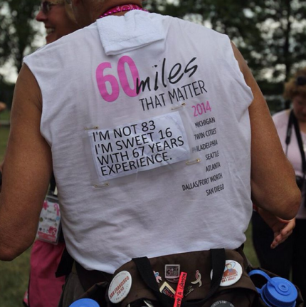 Don't forget to follow @Komen3Day to see our updates from the route!