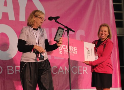 susan g. komen 3-Day breast cancer walk blog philadelphia award winners Milestone Award