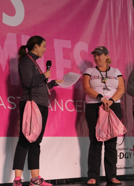 susan g. komen 3-Day breast cancer walk blog philadelphia award winners top fundraiser crew