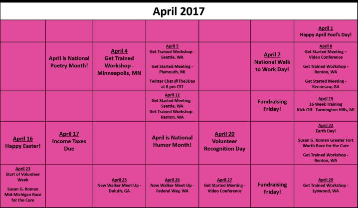 April Fundraising Calendar V03