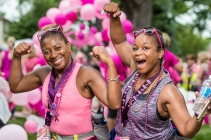 Day 3 of the Susan G. Komen 3day walk through Dearborn, Michigan on August 6, 2017.