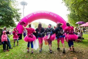 Day 3 of the Susan G. Komen 3day walk through Seattle, Washington on September 17, 2017.