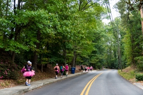 Day 3 of the Susan G. Komen 3day walk through Atlanta, Georgia on October 15, 2017.