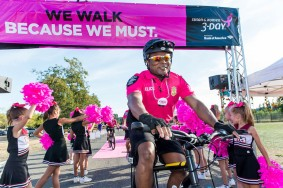Day 1 of the Susan G. Komen 3day walk through Seattle, Washington on September 15, 2017.