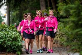 Day 2 of the Susan G. Komen 3day walk through Seattle, Washington on September 16, 2017.
