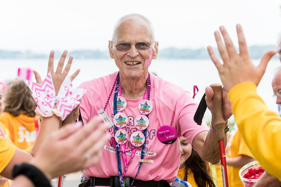 breast cancer walk Michigan