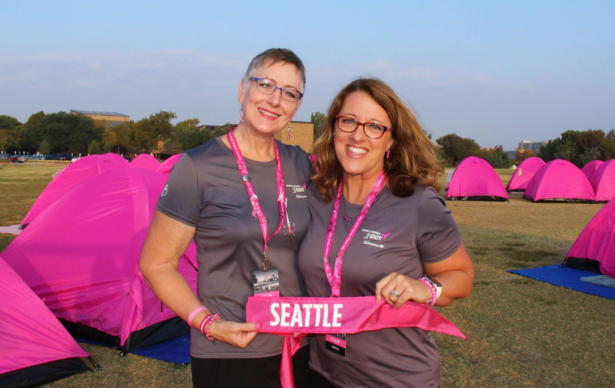 Breast cancer walk seattle